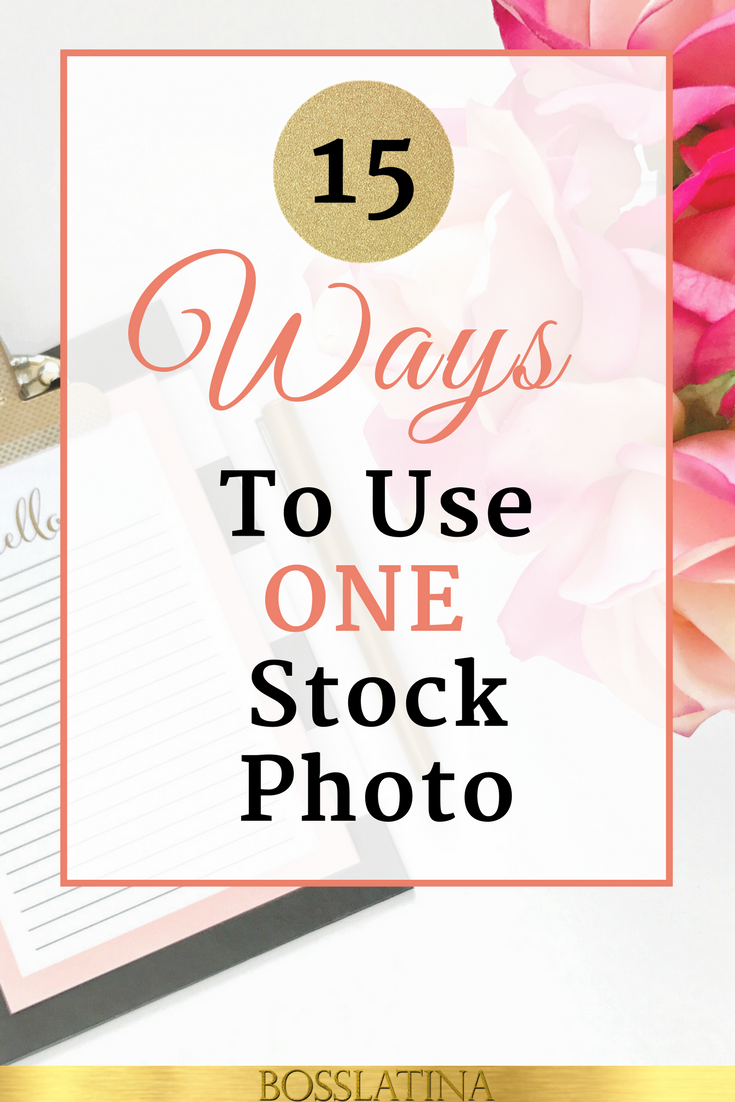 How To Use Stock Photos for Your Blog