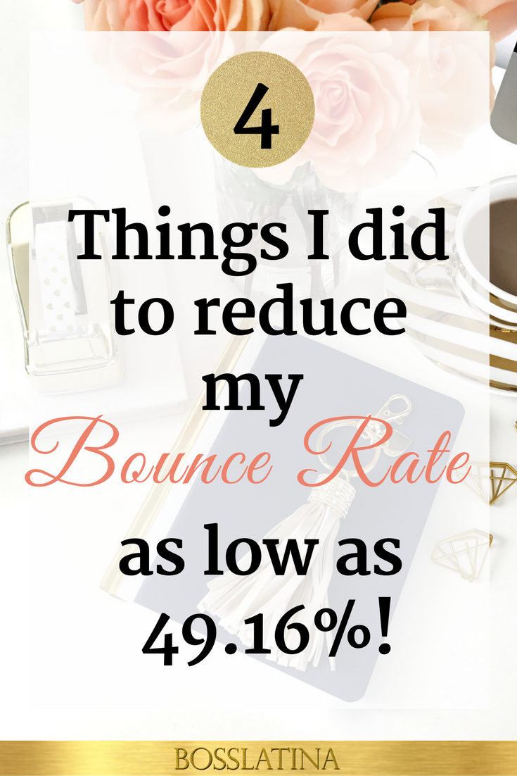 Reduce Your Site's Bounce Rate